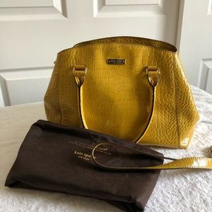 Kate Spade Gold Satchel and Crossbody Hdbag